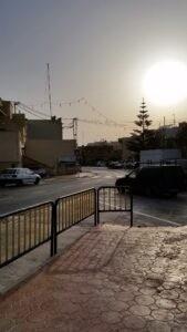Strassenkreuzung Gozo