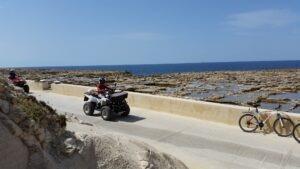 Salzpfannen bei Marsalforn
