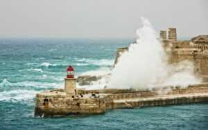 Sturm in Malta vorhergesagt